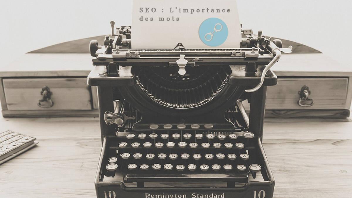 SEO : l'importance des mots