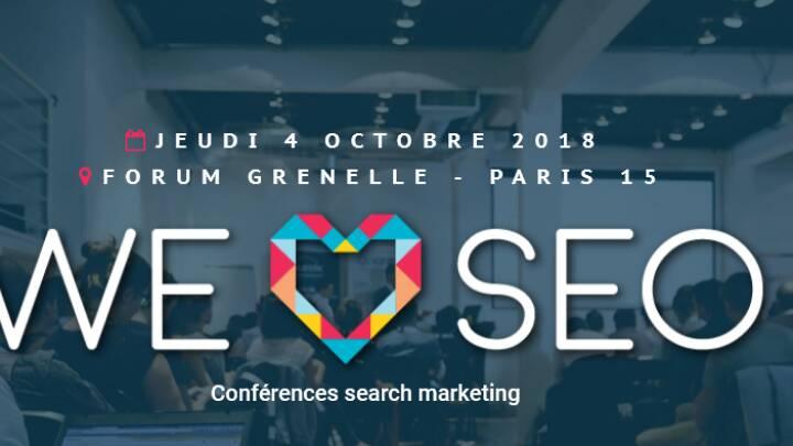 Soumettre.fr, sponsor de We Love SEO 2018