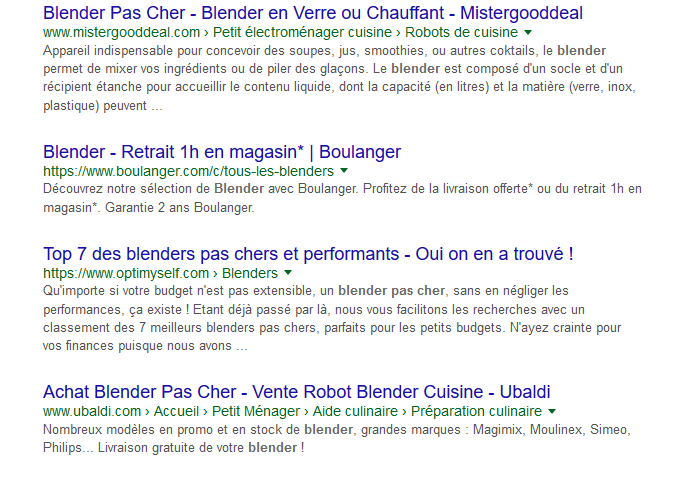 exemple blender google
