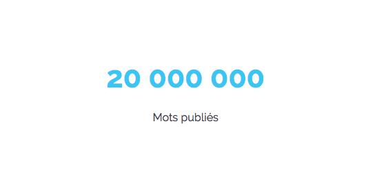 20 millions : on l'a fait !