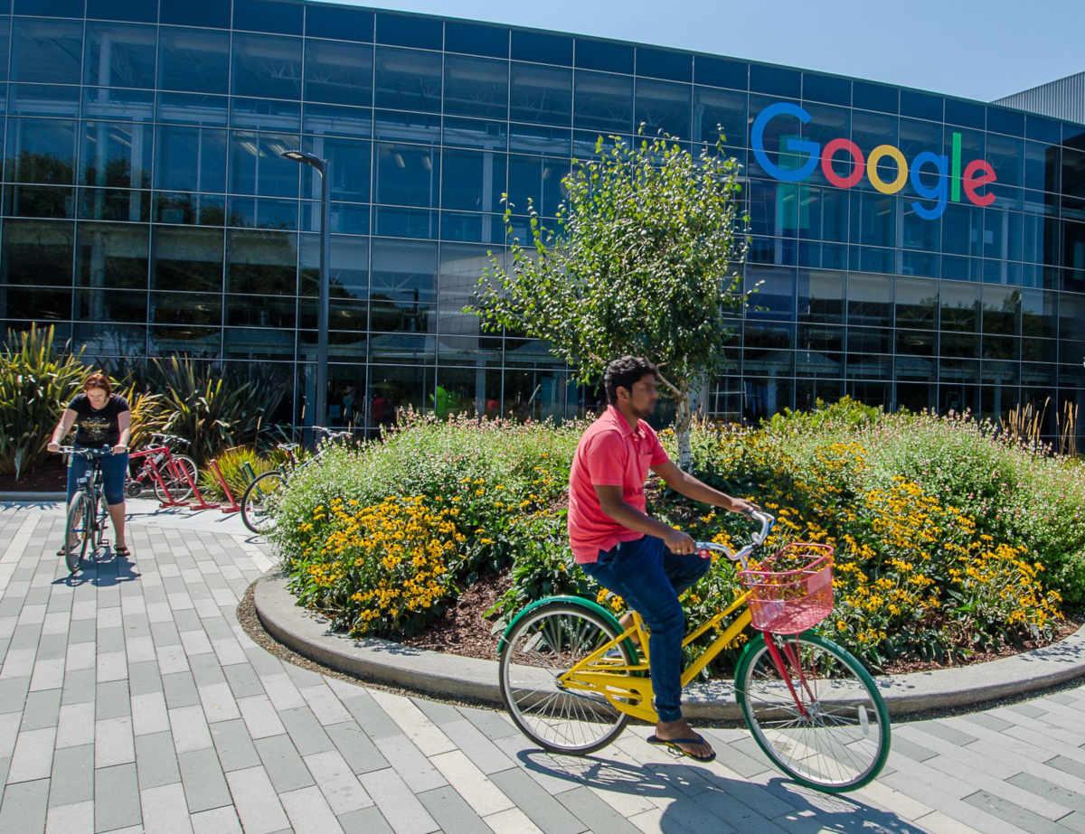 Le GooglePlex, QG de Google en Californie (Moutain View)